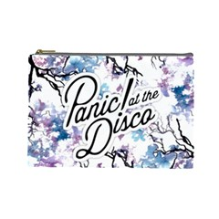 Panic! At The Disco Cosmetic Bag (large)  by Onesevenart
