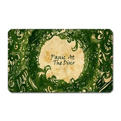 Panic At The Disco Magnet (rectangular) by Onesevenart