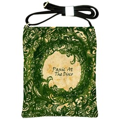 Panic At The Disco Shoulder Sling Bags by Onesevenart