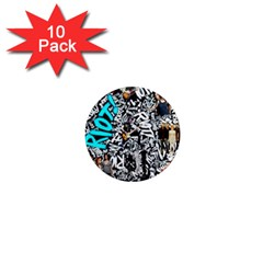 Panic! At The Disco College 1  Mini Magnet (10 Pack)  by Onesevenart