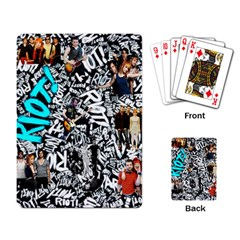 Panic! At The Disco College Playing Card by Onesevenart