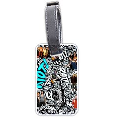 Panic! At The Disco College Luggage Tags (one Side)  by Onesevenart