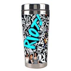 Panic! At The Disco College Stainless Steel Travel Tumblers by Onesevenart