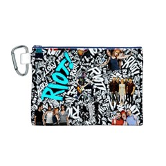 Panic! At The Disco College Canvas Cosmetic Bag (m) by Onesevenart