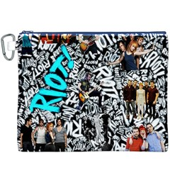 Panic! At The Disco College Canvas Cosmetic Bag (xxxl) by Onesevenart