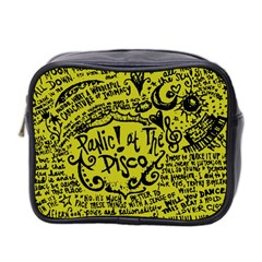 Panic! At The Disco Lyric Quotes Mini Toiletries Bag 2 Side by Onesevenart