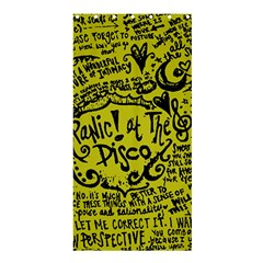 Panic! At The Disco Lyric Quotes Shower Curtain 36  X 72  (stall)  by Onesevenart