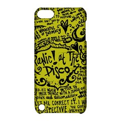 Panic! At The Disco Lyric Quotes Apple Ipod Touch 5 Hardshell Case With Stand by Onesevenart