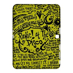Panic! At The Disco Lyric Quotes Samsung Galaxy Tab 4 (10 1 ) Hardshell Case  by Onesevenart