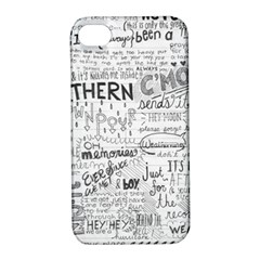 Panic At The Disco Lyrics Apple Iphone 4/4s Hardshell Case With Stand by Onesevenart