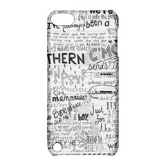 Panic At The Disco Lyrics Apple Ipod Touch 5 Hardshell Case With Stand by Onesevenart