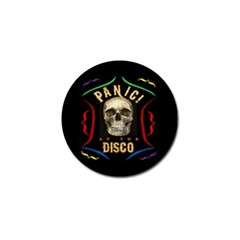 Panic At The Disco Poster Golf Ball Marker (4 Pack) by Onesevenart