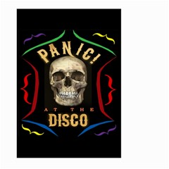 Panic At The Disco Poster Large Garden Flag (two Sides) by Onesevenart