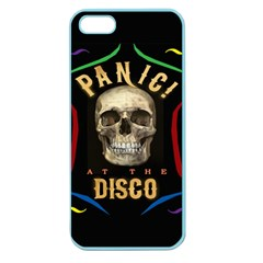 Panic At The Disco Poster Apple Seamless Iphone 5 Case (color) by Onesevenart