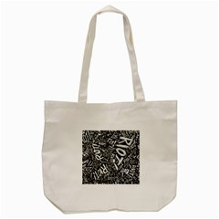 Panic At The Disco Lyric Quotes Retina Ready Tote Bag (cream) by Onesevenart