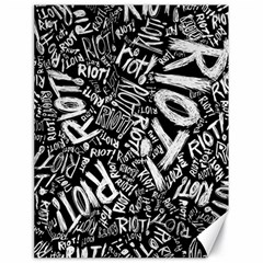 Panic At The Disco Lyric Quotes Retina Ready Canvas 18  X 24   by Onesevenart