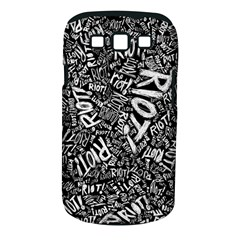Panic At The Disco Lyric Quotes Retina Ready Samsung Galaxy S Iii Classic Hardshell Case (pc+silicone) by Onesevenart