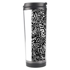 Panic At The Disco Lyric Quotes Retina Ready Travel Tumbler by Onesevenart