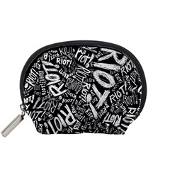Panic At The Disco Lyric Quotes Retina Ready Accessory Pouches (small)  by Onesevenart