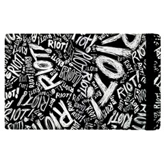 Panic At The Disco Lyric Quotes Retina Ready Apple Ipad Pro 9 7   Flip Case by Onesevenart