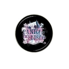 Panic At The Disco Art Hat Clip Ball Marker (4 Pack) by Onesevenart