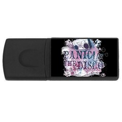Panic At The Disco Art Rectangular Usb Flash Drive by Onesevenart