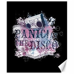 Panic At The Disco Art Canvas 20  X 24   by Onesevenart
