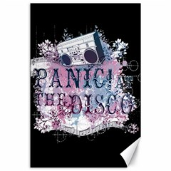 Panic At The Disco Art Canvas 24  X 36  by Onesevenart