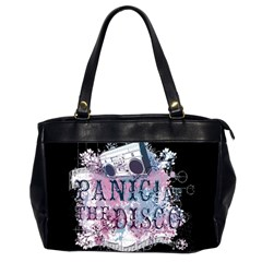 Panic At The Disco Art Office Handbags (2 Sides)  by Onesevenart