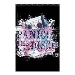 Panic At The Disco Art Shower Curtain 48  X 72  (small)  by Onesevenart
