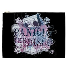 Panic At The Disco Art Cosmetic Bag (xxl)  by Onesevenart
