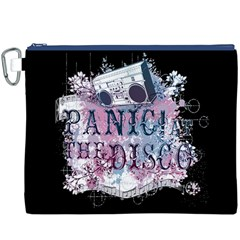 Panic At The Disco Art Canvas Cosmetic Bag (xxxl) by Onesevenart