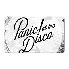 Panic At The Disco Flowers Magnet (rectangular) by Onesevenart