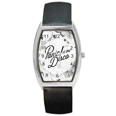 Panic At The Disco Flowers Barrel Style Metal Watch by Onesevenart