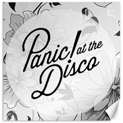 Panic At The Disco Flowers Canvas 20  X 20   by Onesevenart