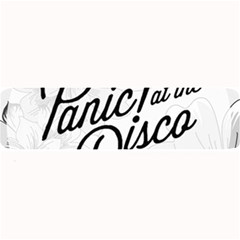 Panic At The Disco Flowers Large Bar Mats by Onesevenart