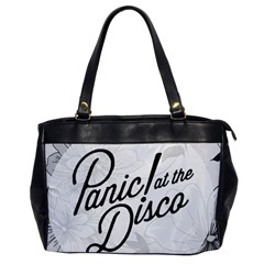 Panic At The Disco Flowers Office Handbags by Onesevenart