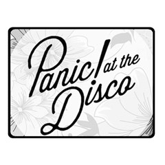 Panic At The Disco Flowers Fleece Blanket (small) by Onesevenart