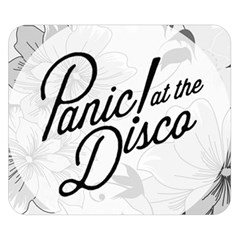 Panic At The Disco Flowers Double Sided Flano Blanket (small)  by Onesevenart