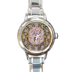 Panic! At The Disco Round Italian Charm Watch by Onesevenart