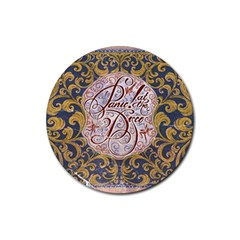 Panic! At The Disco Rubber Coaster (round)  by Onesevenart