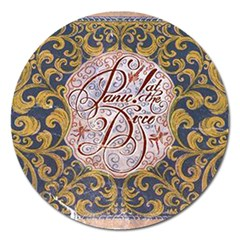 Panic! At The Disco Magnet 5  (round) by Onesevenart