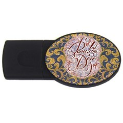Panic! At The Disco Usb Flash Drive Oval (2 Gb) by Onesevenart