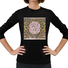 Panic! At The Disco Women s Long Sleeve Dark T Shirts by Onesevenart