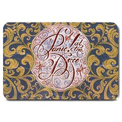 Panic! At The Disco Large Doormat  by Onesevenart