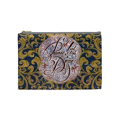 Panic! At The Disco Cosmetic Bag (medium)  by Onesevenart