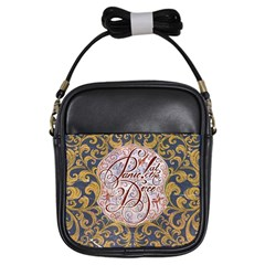 Panic! At The Disco Girls Sling Bags by Onesevenart