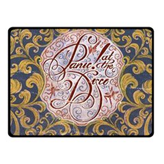 Panic! At The Disco Fleece Blanket (small) by Onesevenart