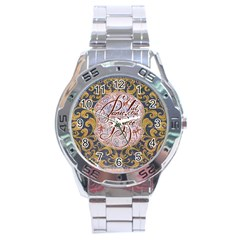 Panic! At The Disco Stainless Steel Analogue Watch by Onesevenart