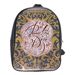 Panic! At The Disco School Bag (xl) by Onesevenart